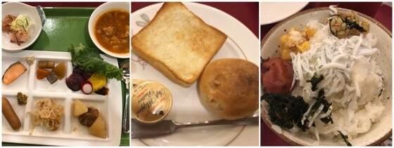 箱根強羅にあるリゾーピア箱根で食べた朝食ビュッフェメニュー