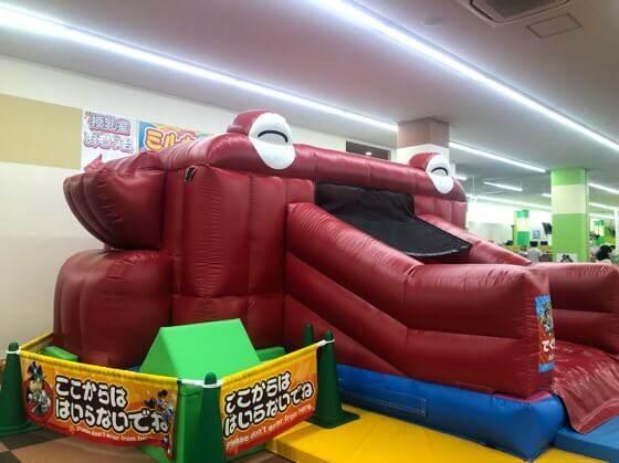 神奈川の子どもの遊び場のファンタジーキッズリゾート