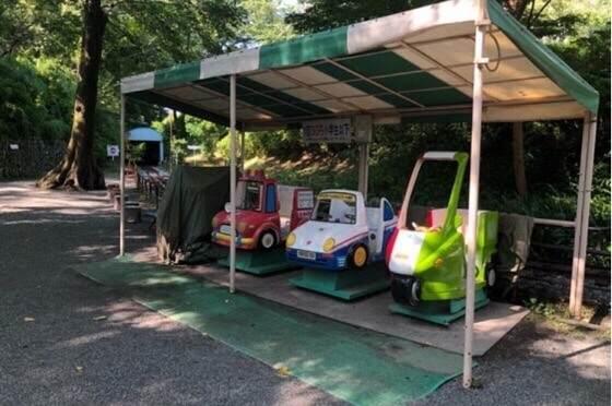 小田原城址公園こども遊園地の30円の遊具