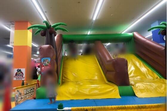雨の日でも遊べるファンタジーキッズリゾート港北店