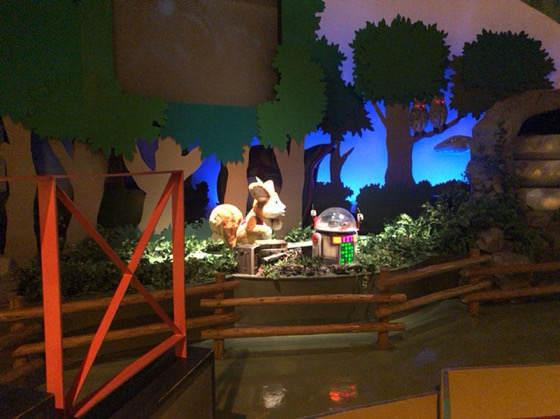 箱根森のふれあい館の「妖精パックと森の仲間たち」のショー