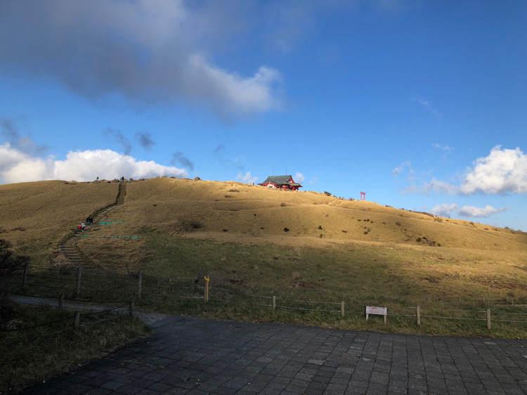 箱根園にある駒ヶ岳の箱根元宮
