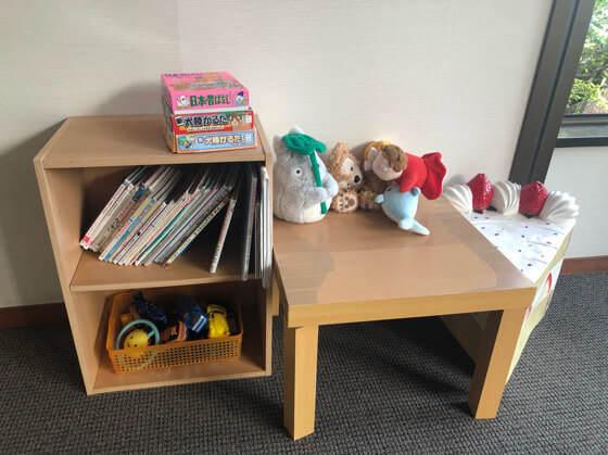 ベネフィットステーション箱根宮城野のおもちゃと絵本