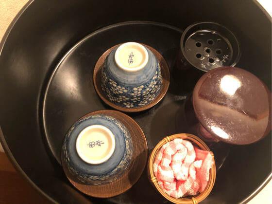 ベネフィットステーション箱根宮城野のお茶セット