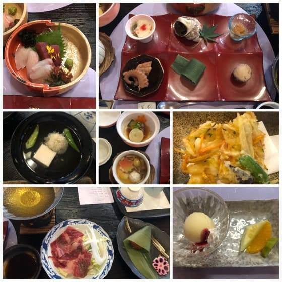 ベネフィットステーション箱根宮城野の夕食