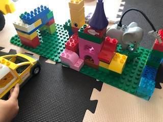 3才の子供がレゴデュプロで作った作品