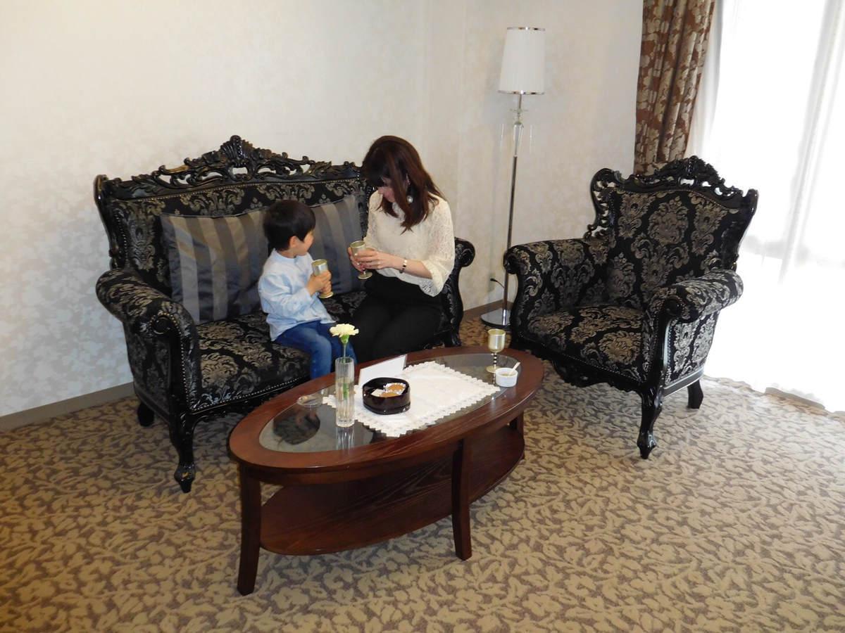 箱根にあるホテルマイユクール祥月の部屋