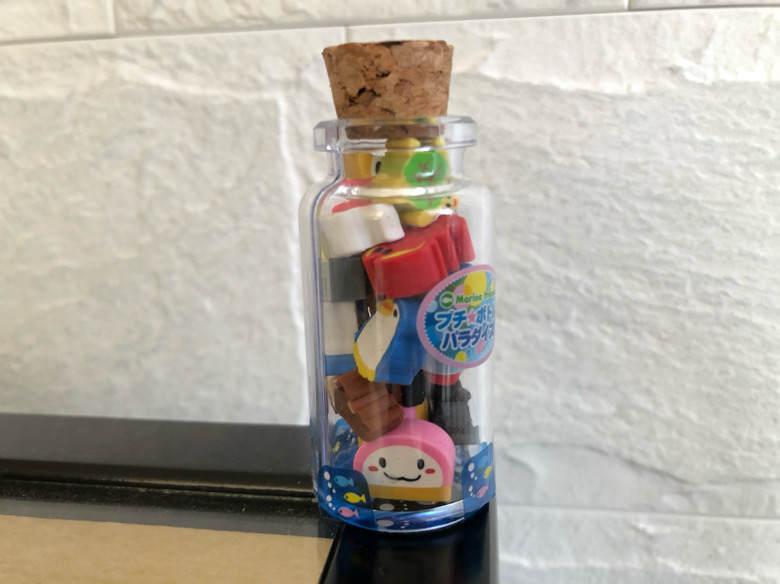 小田原にある鈴廣かまぼこの里のお土産で買った消しゴム