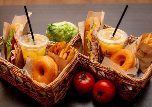 三島スカイウォークにあるピクニックカフェのキッズメニュー