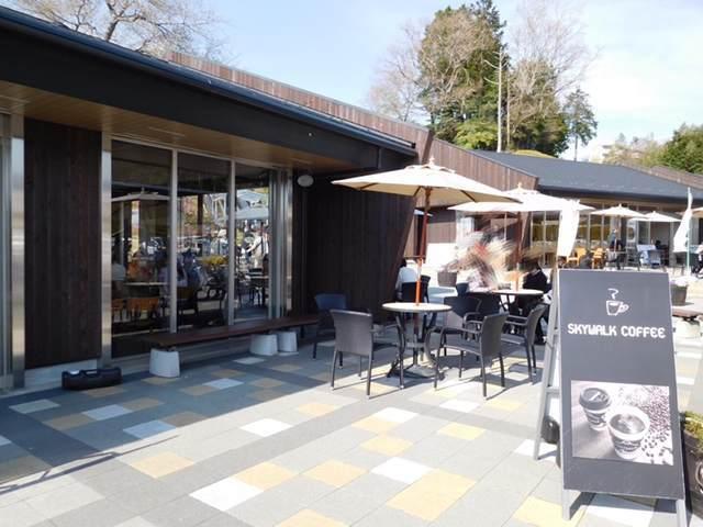 三島スカイウォークにあるスカイウォークコーヒー