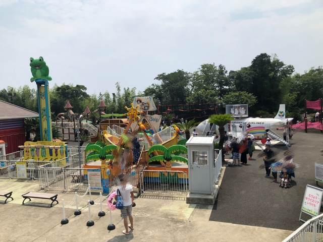 伊豆ぐらんぱる公園にある子ども向けのアトラクション