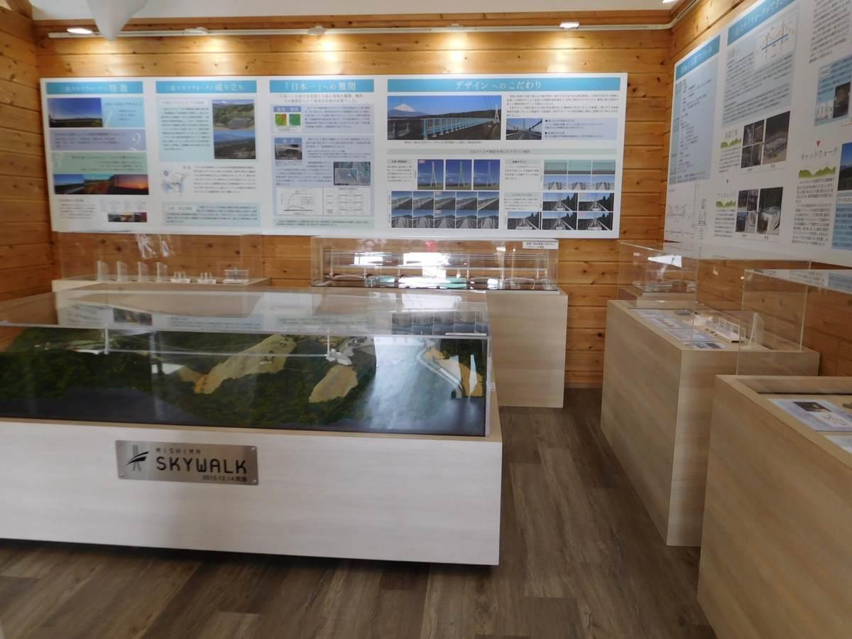 三島スカイウォークのミュージアム