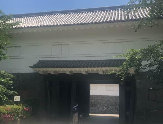 小田原城の常盤木門(ときわぎもん)