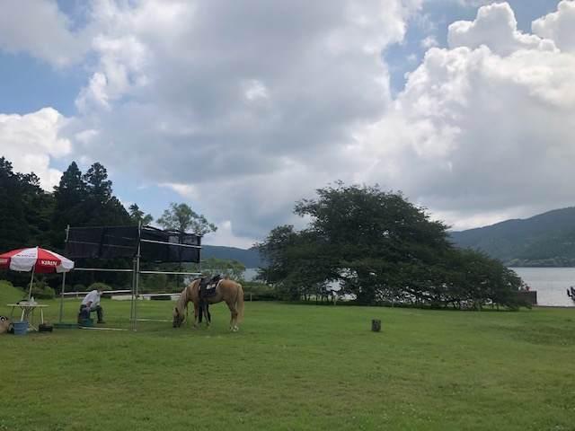 箱根園「どうぶつランドだっこして!ZOO!」の乗馬体験