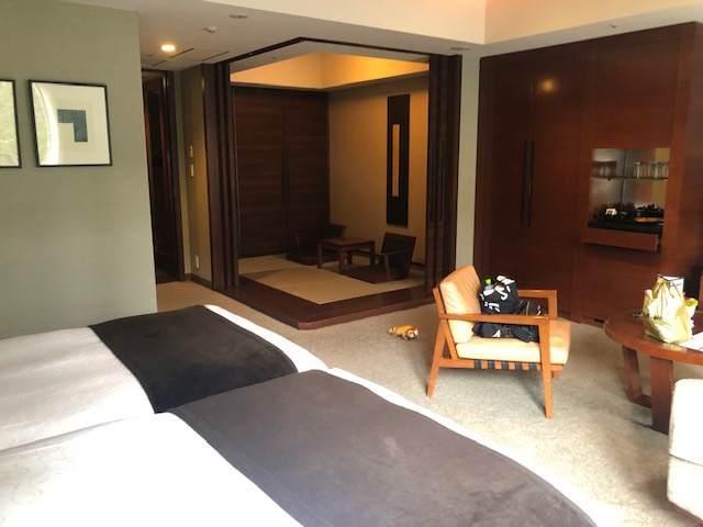 エクシブ箱根離宮のスタンダードグレードの部屋の和室