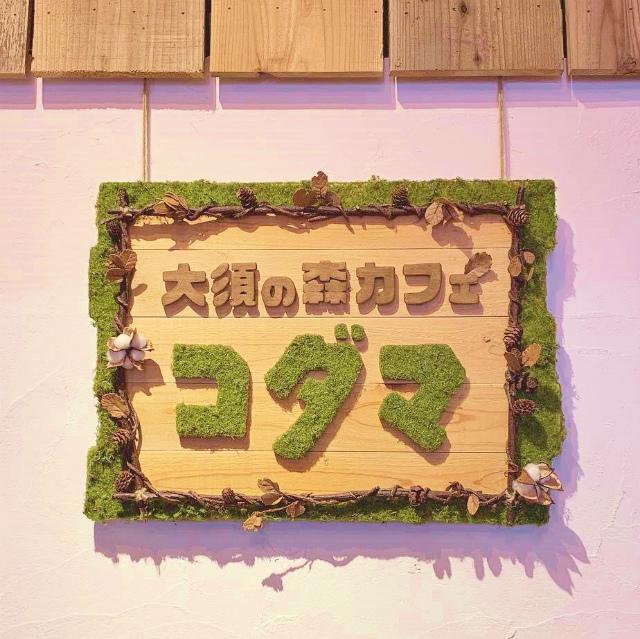 ジブリ好きにはたまらない 大須の森 カフェ コダマ