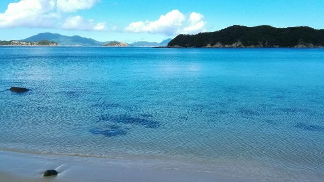五島列島の美しい海