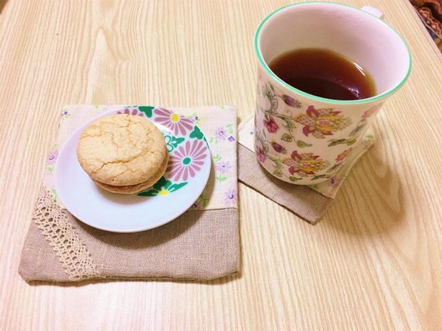 名古屋ふらんす小倉トースト味をいただく