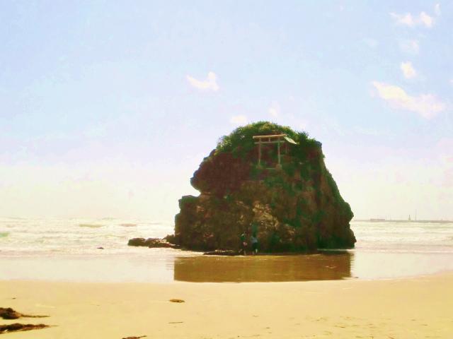 神話の舞台 稲佐の浜