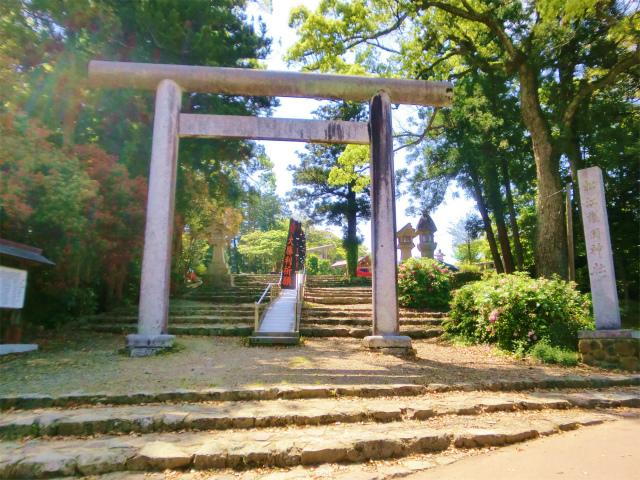 松江護国神社 鳥居