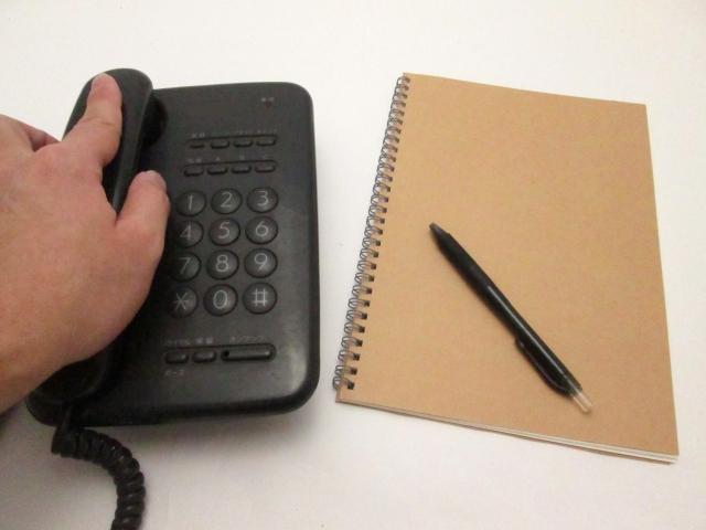電話対応には自分のマニュアルを作る