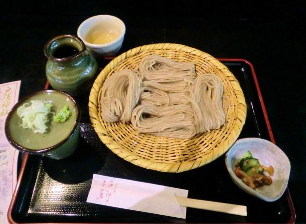 戸隠神社 奥社の茶屋のお蕎麦