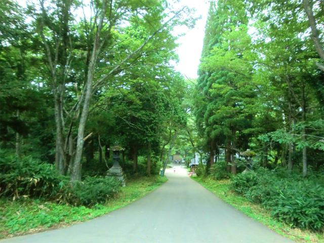 戸隠神社 奥社参道入口から