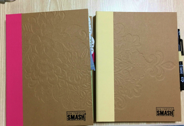 SMASH BOOKで手作りのアルバム作り。