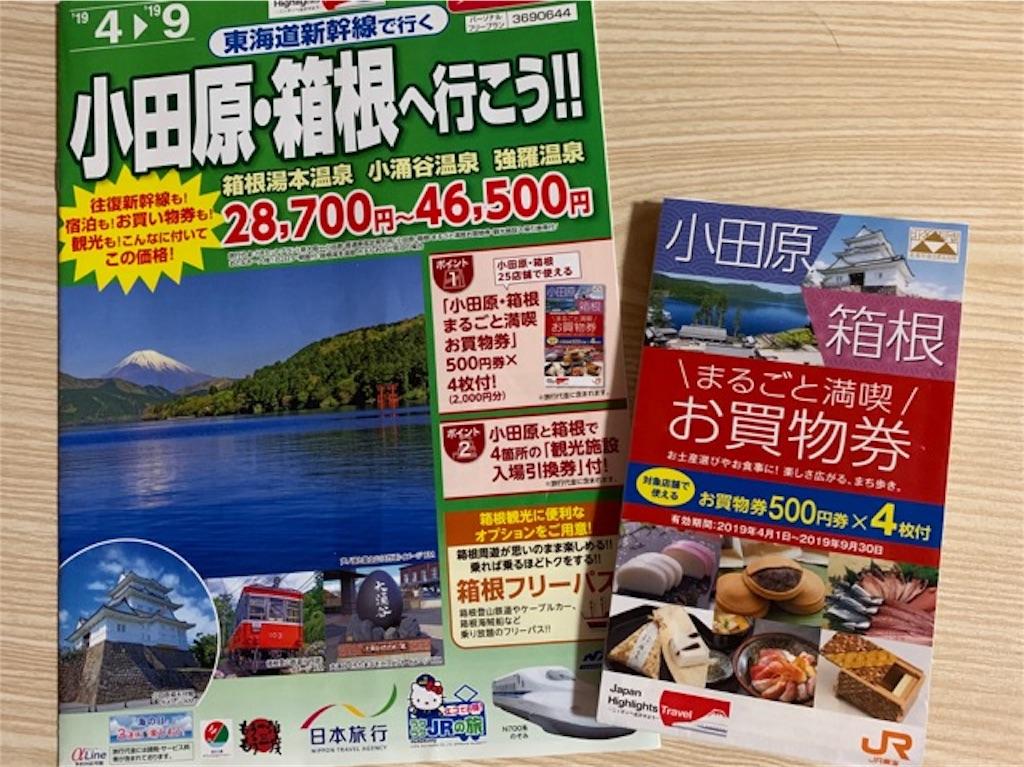 日本旅行で小田原・箱根へ