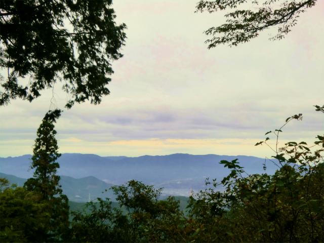 高野山 獄在弁天からの景色