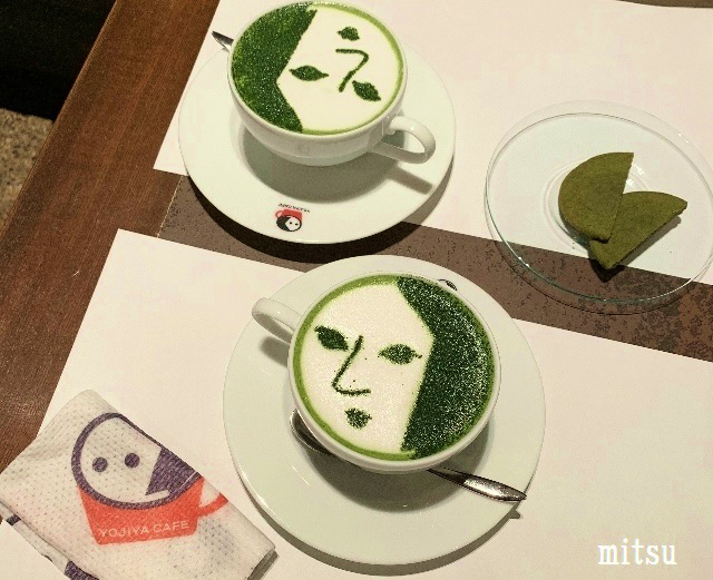 よーじやカフェ 抹茶カプチーノ