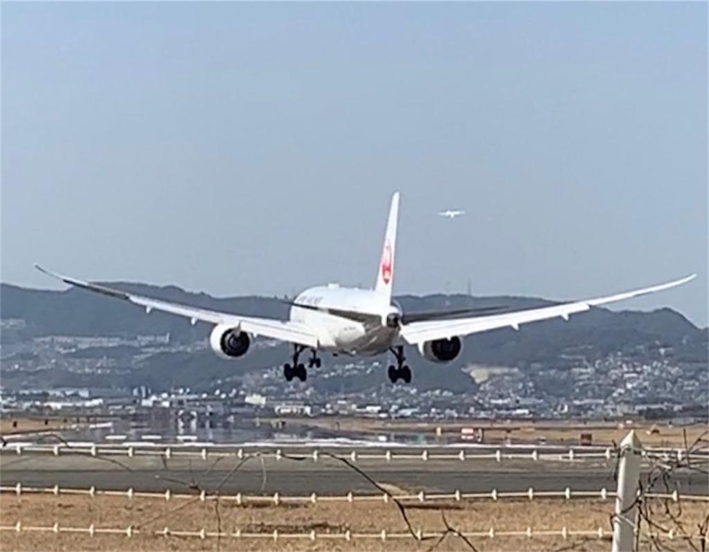 飛行機の撮影スポットの千里川土手