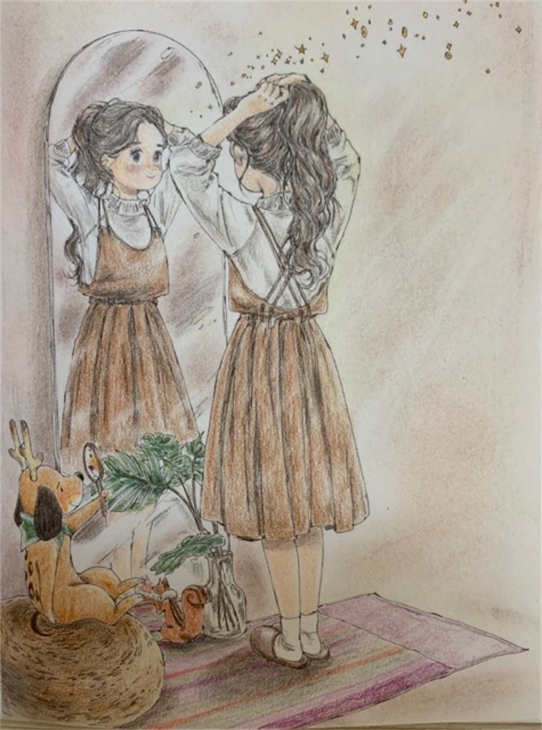 「エポルの森の少女」より《When I Tie Up My Hair》(髪を結ぶ少女)