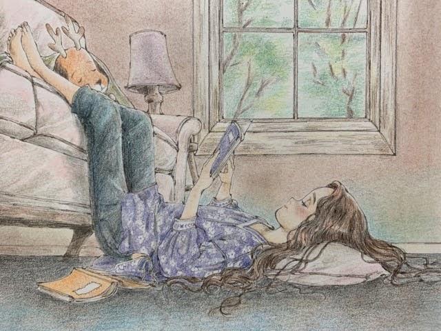エポルの森の少女カラーリングブックより「The Minimal Bads」