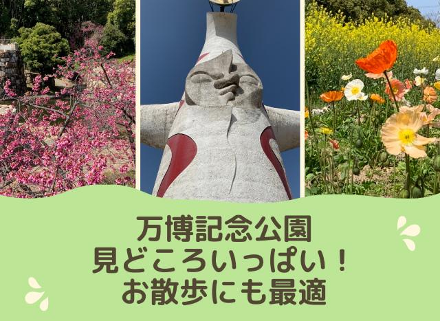 万博記念公園は見どころいっぱい!お散歩にもオススメのコース