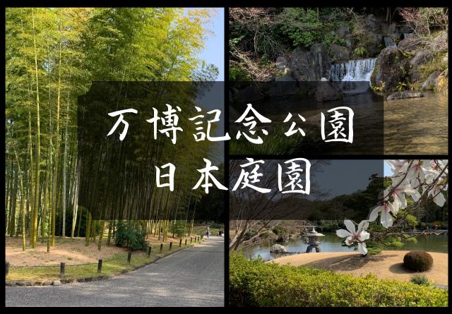 万博記念公園の日本庭園の見どころは?コースを変えて歩きたい散歩道