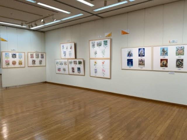 第15回大人の塗り絵コンテスト展覧会、関西展を見てきた感想