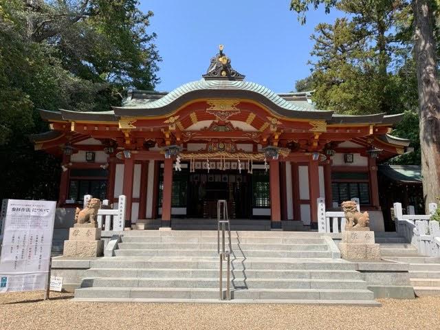 兵庫県西宮市の越木岩神社