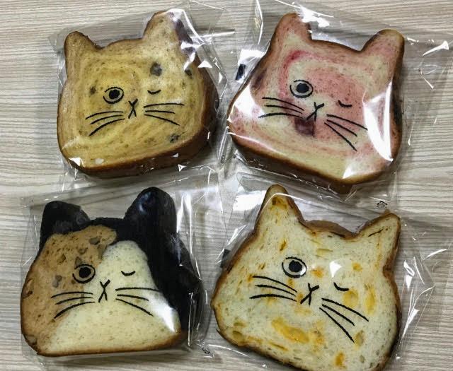 4種類のねこねこ食パンを買ってみた