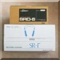 STAX SR-γとSRD-6SBの箱