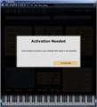 Pianoteq 3から再認証を要求されました(^_^;
