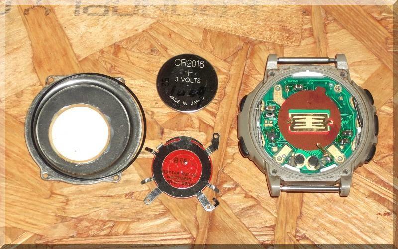 時計の電池交換作業
