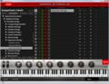 インポートしたSymphony Stringsの音色整理