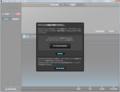 BOSS TONE STUDIO for GP-10 1.1.0のGP-10未接続時の起動画面