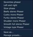 Pianoteq 5.8.0 fx06 Phaser