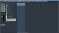 Cubase Pro 8.5のプロジェクトウィンドウ