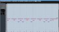 Cubase Pro 8.5のキーエディター