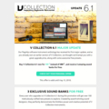 V Collection 6.1が199ユーロ