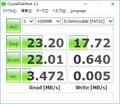 HP 840G1機でKINGMAX 16GB CDM 2.2.0