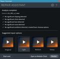 RX 7 ElementsでRepair Assistant 01